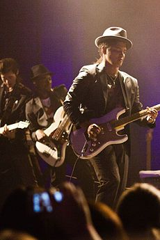 #BrunoMars   Peter Gene Hernandez (born October 8, 1985), known by his stage name Bruno Mars, is an American singer-songwriter and record producer.    #Cinelease provided #grip & #lighting equipment on the production. Learn more about Cinelease, Inc. at: http://www.cinelease.com  #EverythingInLight