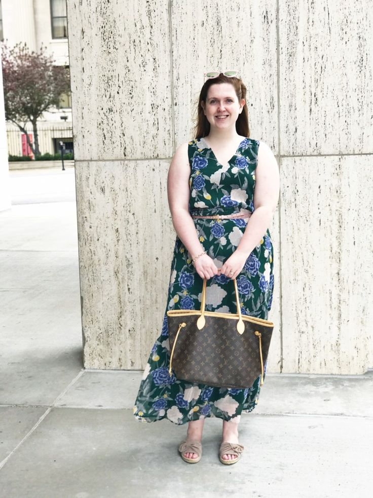 Target Floral Maxi Dress Her Heartland Soul
