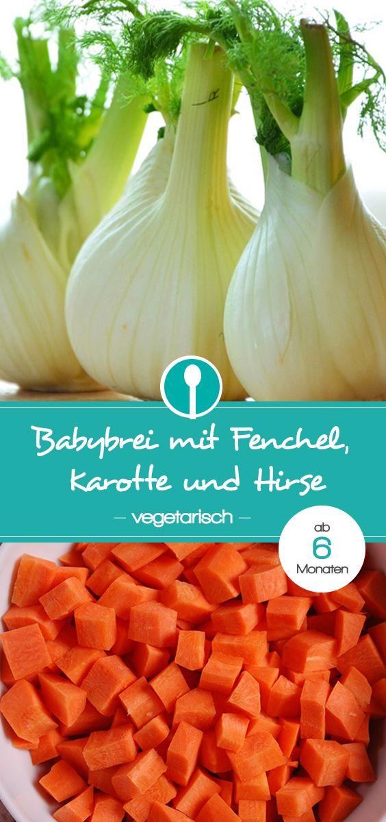Fenchel-Karottenbrei mit Hirse
