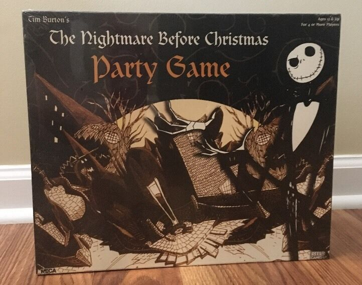 how to play nightmare before christmas trivial pursuit