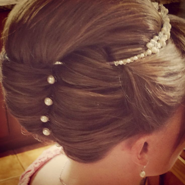 Wedding Hairstyle Roll: 40 Best Vertical Rolls/French Pleat Images On Pinterest