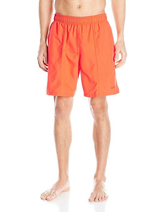 91b6e8e4c2 Amazon.com : Speedo Men's Solid Rally Volley 19 Inch Workout & Swim Trunks  : Fashion Swim Trunks : Sports & Outdoors