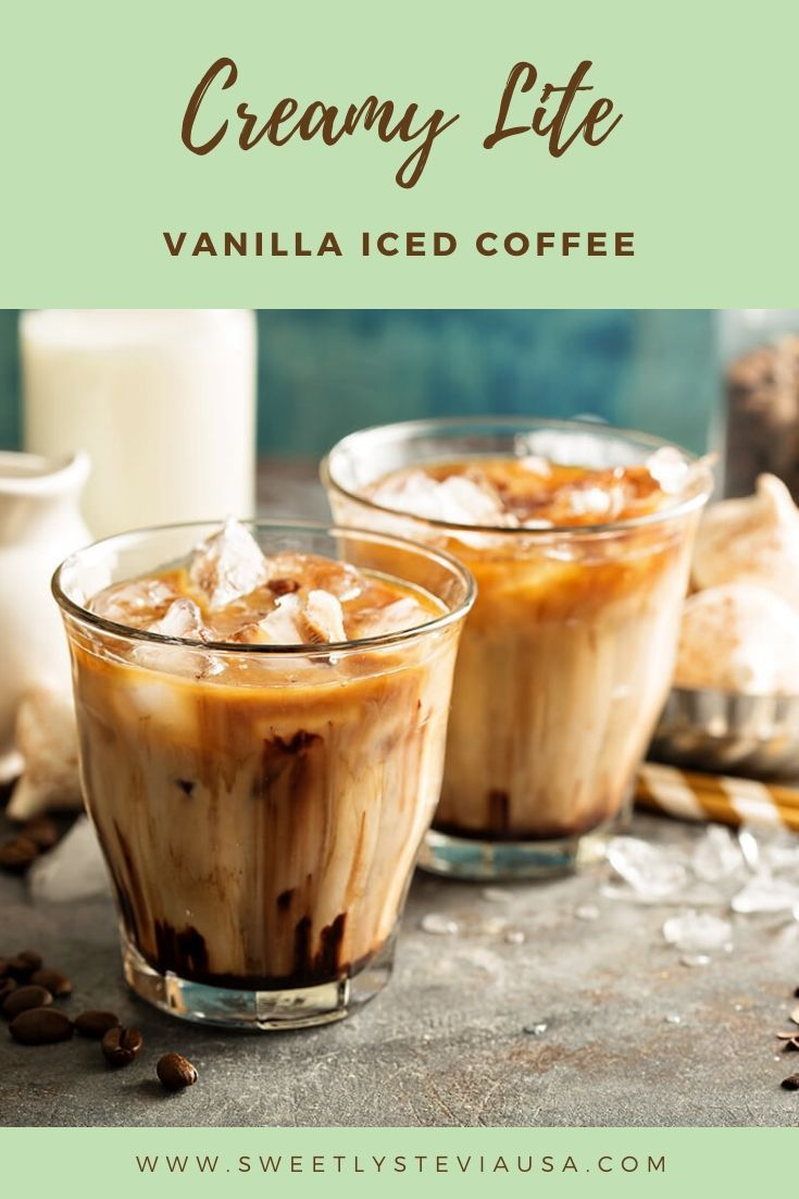 24+ Vanilla iced coffee recipe without creamer inspirations