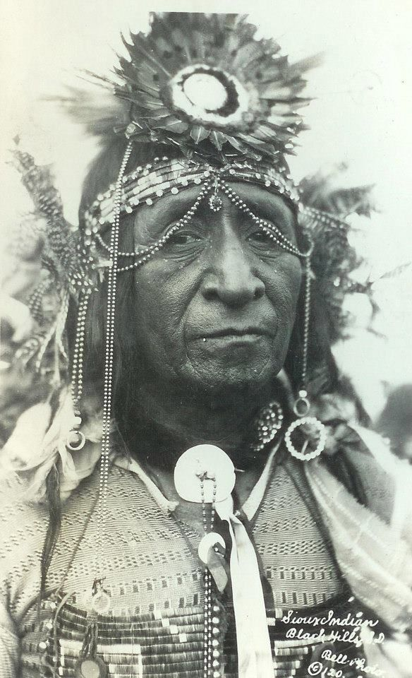 Sioux.  In honor of the indigenous people of North America who have influenced our indigenous medicine and spirituality by virtue of their being a member of a tribe from the Western Region through the Plains including the beginning of time until tomorrow