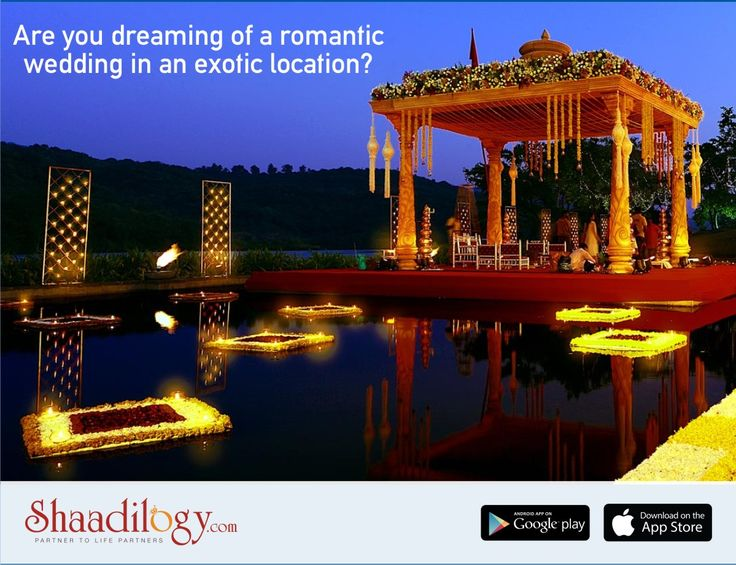 If you're planning a destination wedding and want to treat your guests with spectacular views as well as some fun activities then Shaadilogy.com will  spoil you with these choices. Check our latest venues http://shaadilogy.com/vendors/?type=is_venue