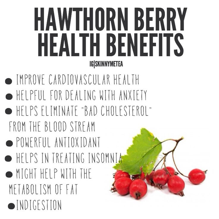 Hawthorn extract health benefits