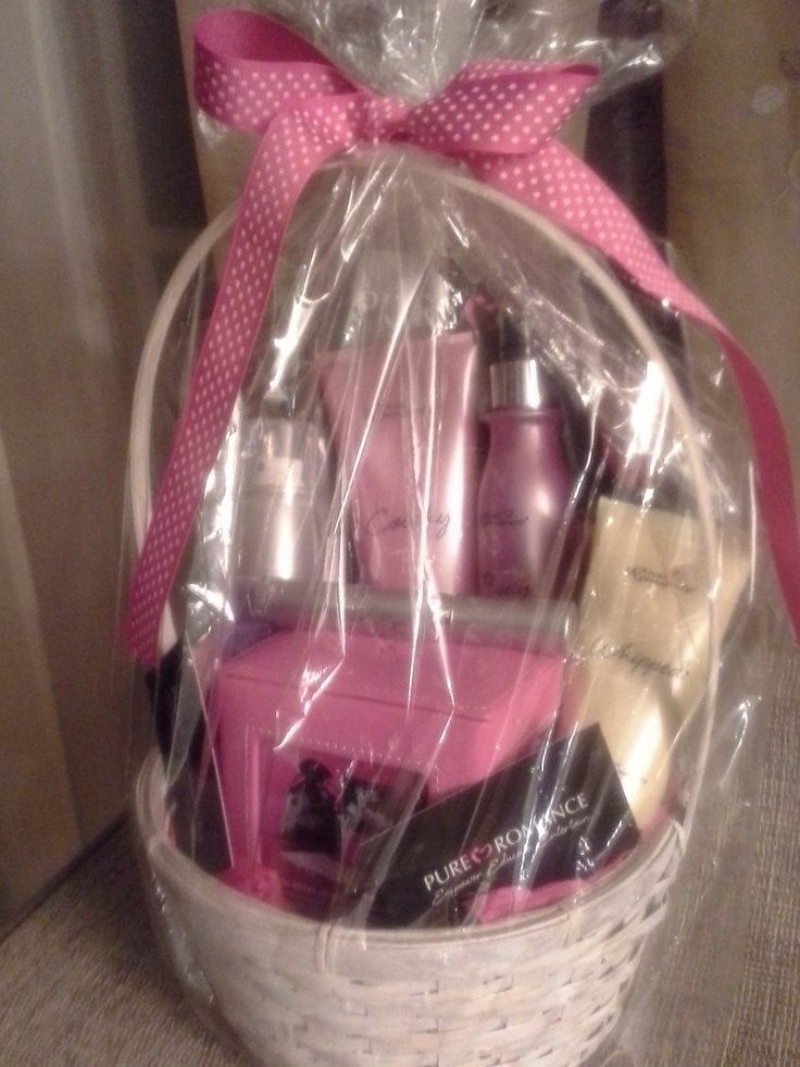 23 best gift baskets pure romance by alejandra images on pinterest 99 gift basket containing body dew coochy shave cream whipped between the negle Choice Image