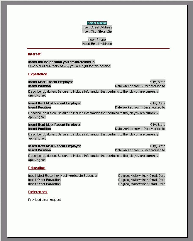 11 best Jobs stuff images on Pinterest Career, Career - free html resume template