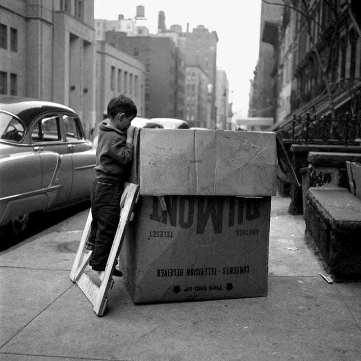 New York, Vivian Maier | Mírame y sé color