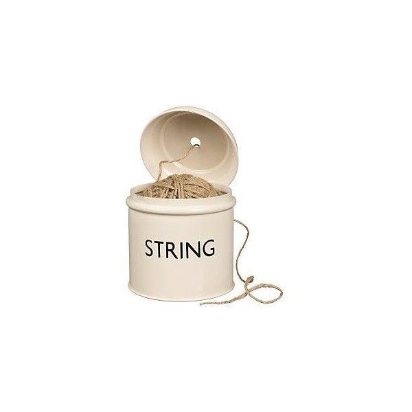Buy String Dispenser, Bone online at JohnLewis.com ($8.28) ❤ liked on Polyvore featuring fillers, decor, backgrounds, things and items
