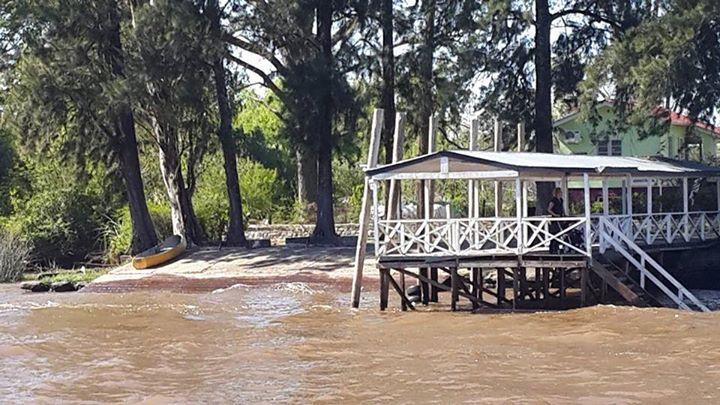 Miguel Salvador Mauro: Que lindo se ve el puerto del recreo sobre el rio lujan!!!
