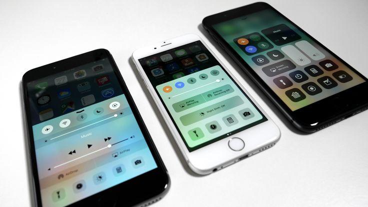 iOS 9 vs iOS 10 vs iOS 11 - A Look Back Comparison