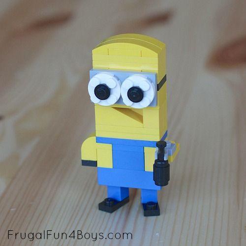 Lego Minions Building Instructions - Frugal Fun For Boys
