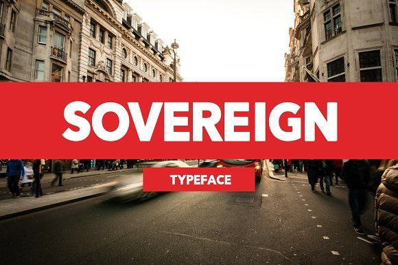 Sovereign Typeface by Diana Orozco on @creativemarket
