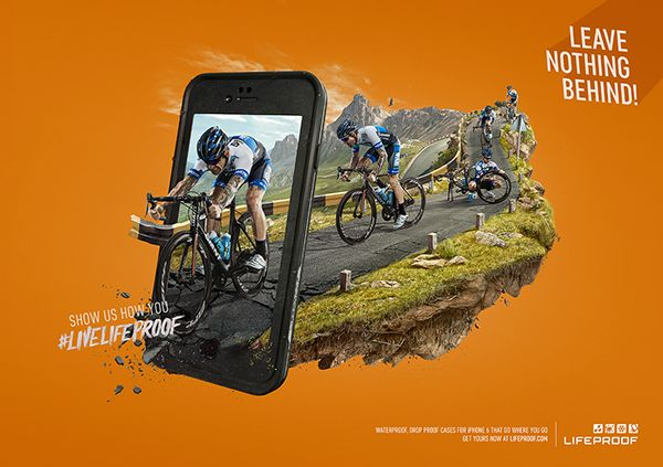 LIFEPROOF: Leave Nothing Behind on Behance