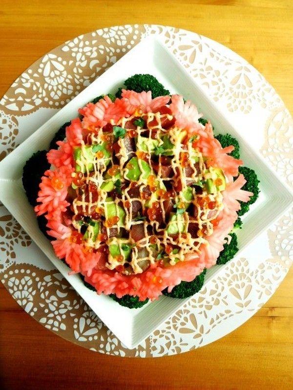 母の日にきらきらっと華やかケーキ寿司 by 優子 | レシピサイト「Nadia ...
