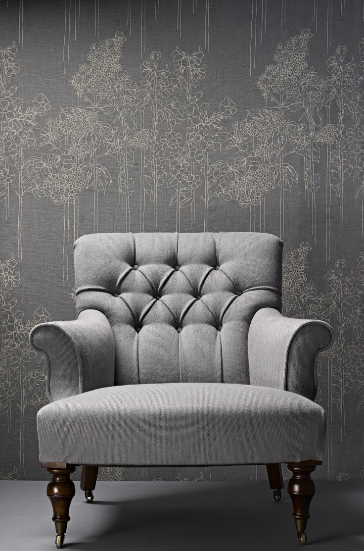 great chair and wall!