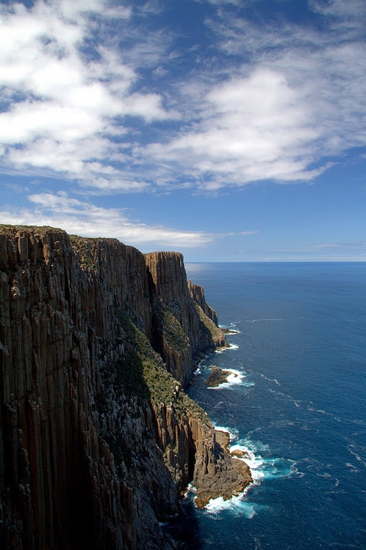 The Gorgeous Coast of Tasmania.
