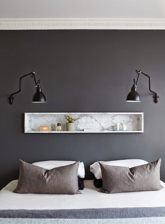 25 best ideas about grey feature wall on pinterest grey for Decoration murale suspendue