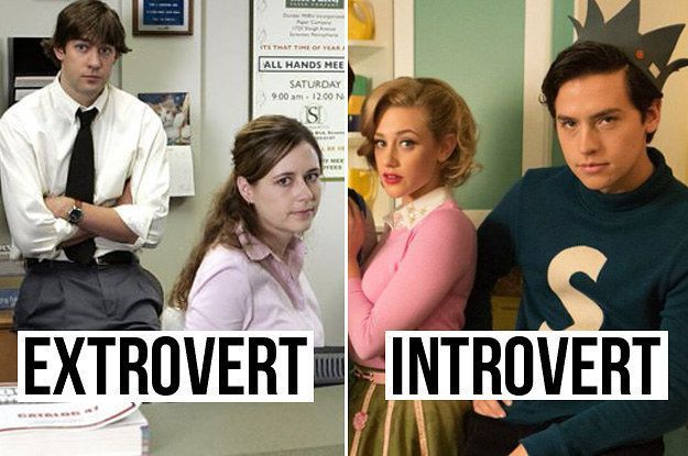 This TV Test Will Show If You're More Of An Introvert Or An Extrovert  You got: You're an extroverted introvert.  You can be the life of the party, but you're equally comfortable just hanging out at home by yourself. You've probably got a team of close friends you do most things with, or a couple of friends you spend time with one on one, and they appreciate and honor it when you need to go off and read a book or just get in an extra nap.