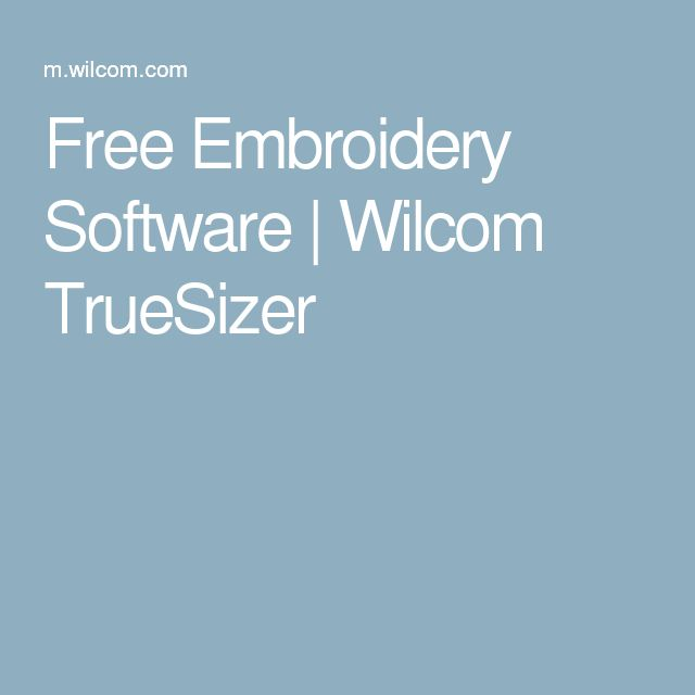 machine embroidery software free