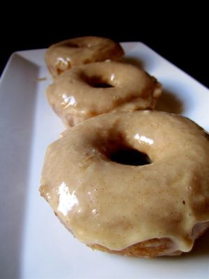 Baked Apple Cider Doughnuts recipe from AlanaBread (from Diana's Desserts):  Baked Apple Cider Doughnuts:  2 cups plain flour  2 teasp...