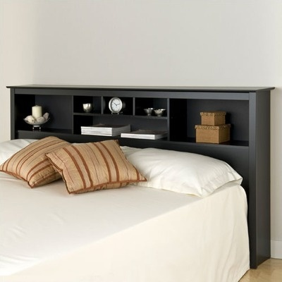 Best 20 bookcase headboard ideas on pinterest book - Bedroom furniture bookcase headboard ...