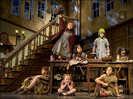Annie Broadway Lilla Crawford | ... Back: Lilla Crawford, Junah Jang, Taylor Richardson, Tyrah Skye Odoms