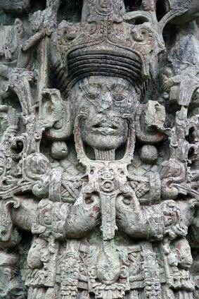 This is in Tikal, Guatemala