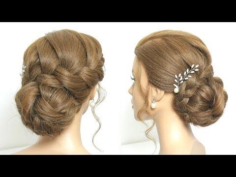 Simple And Beautiful Juda Hairstyle For Party Youtube Peinados