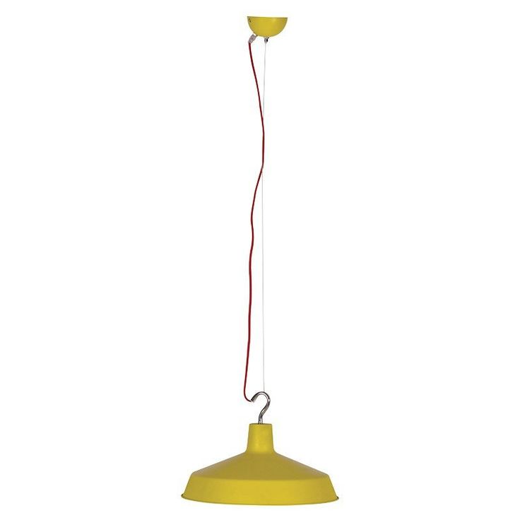 Yellow Low Hanging Light