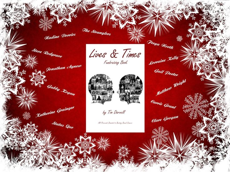 Lives & Times Fundraising Book is the perfect stocking filler this Christmas supporting the Beating Bowel Cancer charity