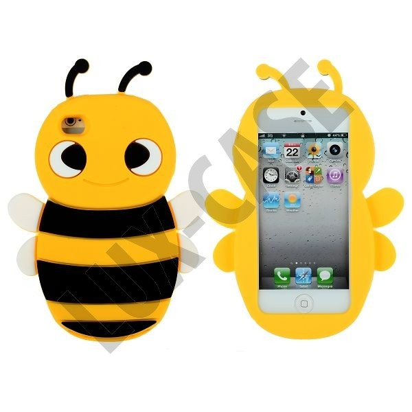 Happy Bee iPhone 5 Cover