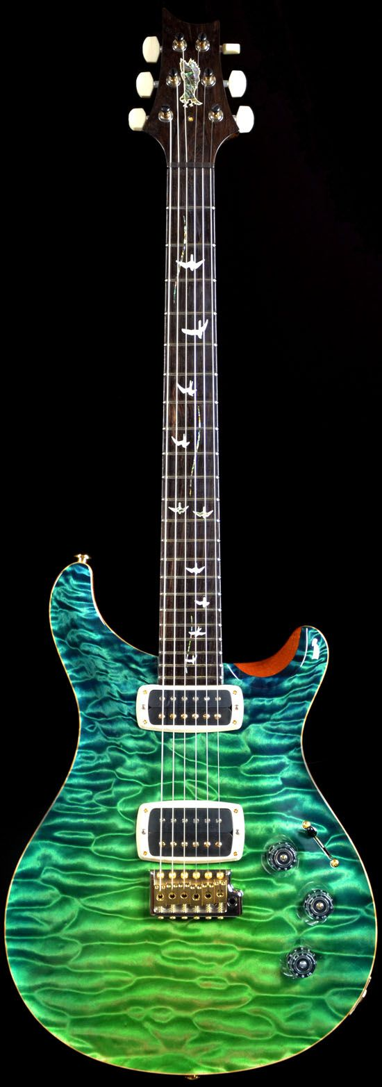Wild West Guitars : PRS Private Stock #4067 McCarty Grass Stain Dragon�s Breath-SOLD
