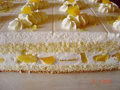 Quark - Pfirsich - Sahne - Torte 3