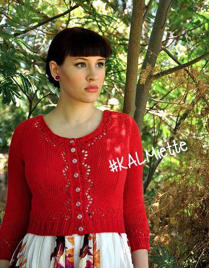 Nouveau KAL ! Qui veut tricoter le #KALMiette ? Plus d'infos : http://carofoliz.com/2015/04/08/kalmiette-gilet-miette/