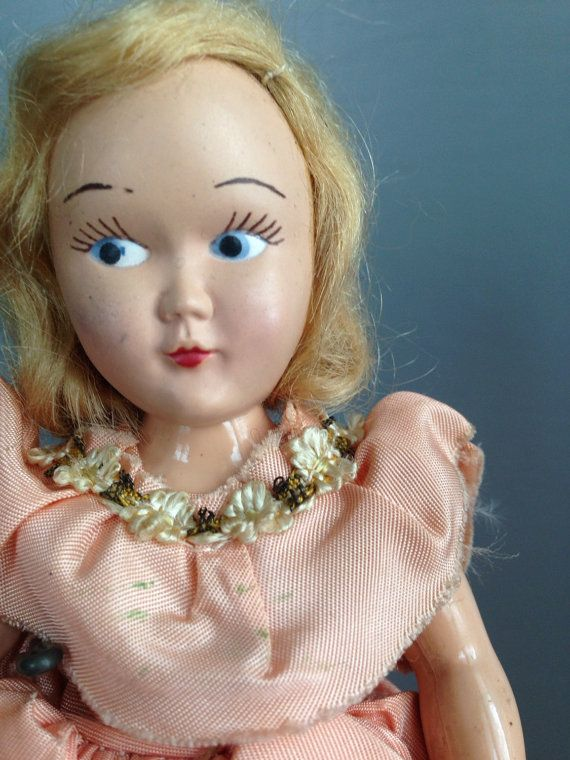 7 1/2 Duchess Doll Corp 1948 Hard Plastic by JadeAndLorenJR