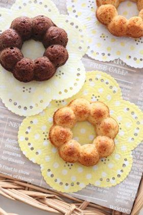 「焼きドーナツ ブルーベリーショコラ」chihiro | お菓子・パンのレシピや作り方【corecle*コレクル】