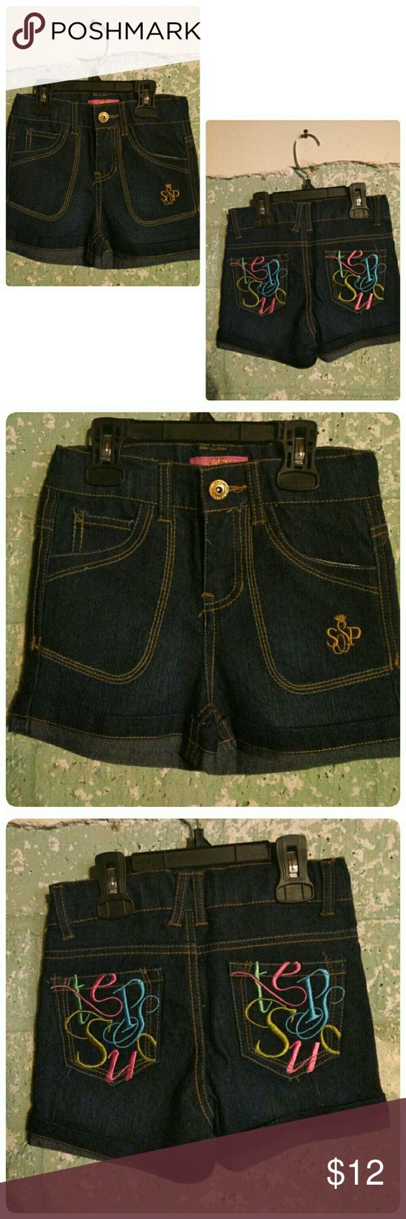 Girls jean shorts NWOT girls jean shorts super cute. South Pole Bottoms Shorts