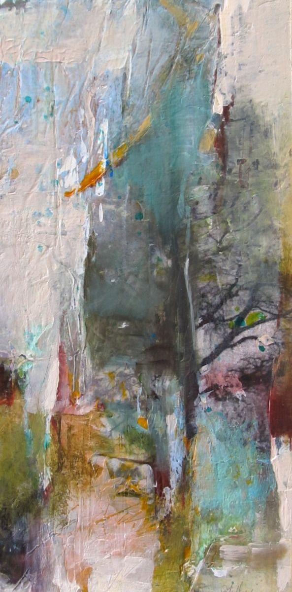 "Contemporary Mixed Media - ""Renewal"" (Original Art from Joan Fullerton)"