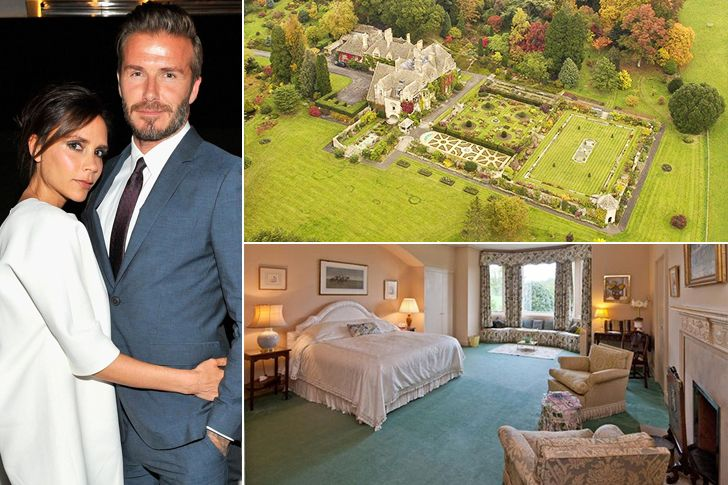 After Many Years Of Investing In Houses Around The Globe Power Couple David Beckham And Victoria Beckham Probably Don T Celebrity Houses Maine House Mansions
