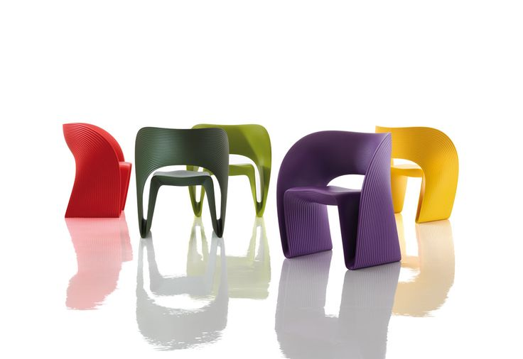"""Love this chair. We used to have """"Tom Vac"""" by Ron Arad and these remind me of them 