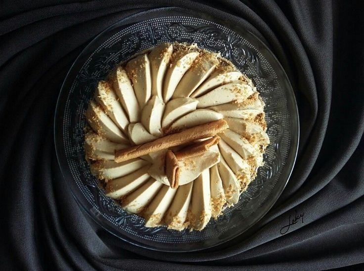 Gâteau sans cuisson aux speculoos