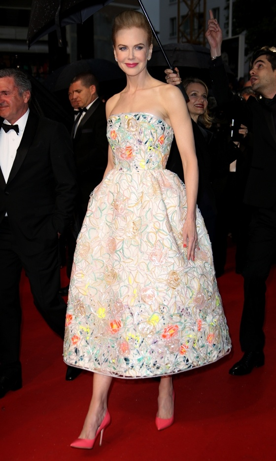 Nicole Kidman In Christian Dior At The Cannes Film Festival 2013