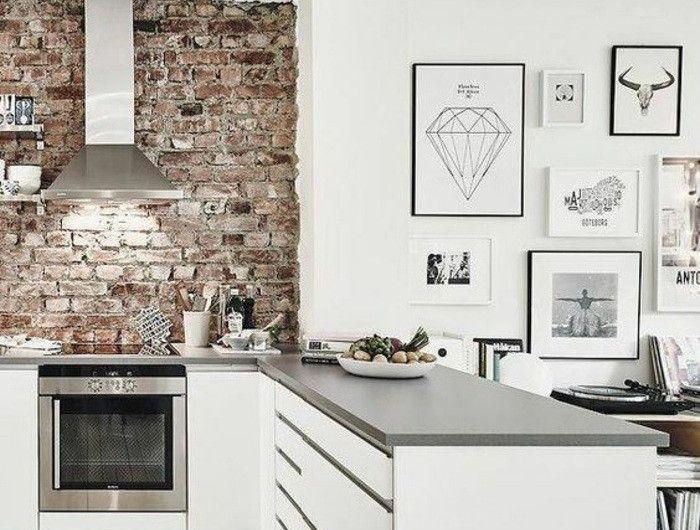 20-kreative-wohnideen-ziegel-aspirator-ofen-bilderwand-wanddeko - küchen wand deko