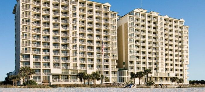Fans select best oceanfront hotels in Myrtle Beach.