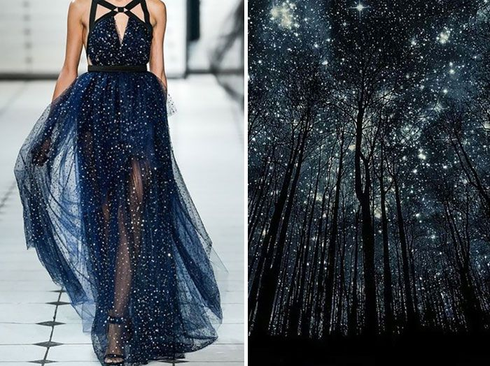"Jason Wu & Starry Night ""Silhouettes"" by Harry Finde"