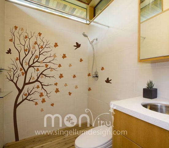 Vinilo arbol de oto o vinilos decorativos vinilos for Vinilos murales adhesivos