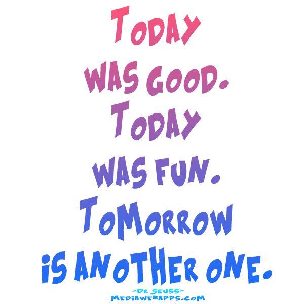 how to feel good tomorrow
