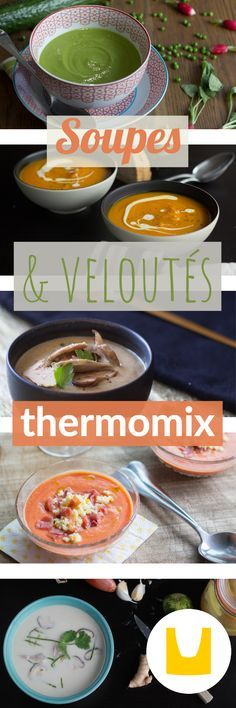 Rien de tel qu'une bonne petite soupe Thermomix pour se caler sainement, conso…